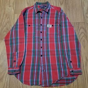 Ralph Lauren Polo Sportsman Heavy Flannel Shirt sz